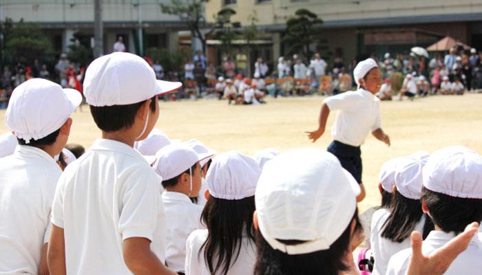 兵庫県の小中学校の体躯の掛け声が違うについて紹介しています。