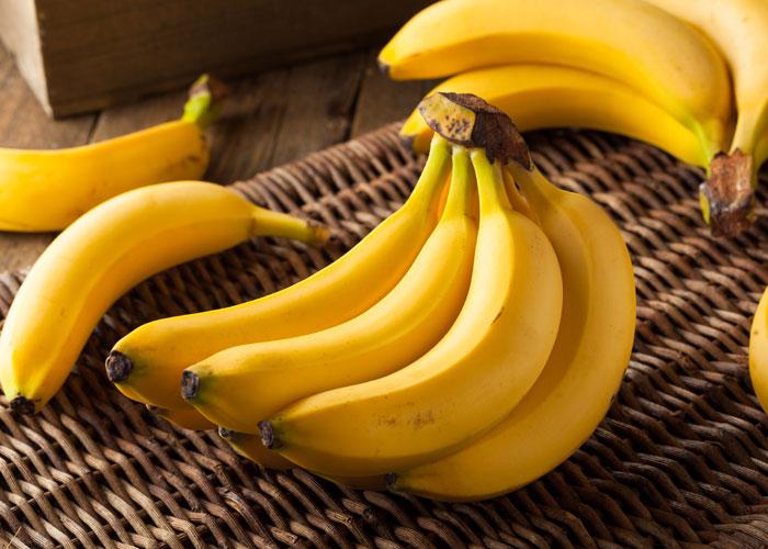 夜食べてもよい果物はバナナ